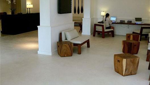 Beton Floor béton ciré micro top concrete modern home solutions