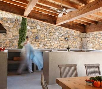Béton Ciré Micro Top Concrete Outdoor Kitchen