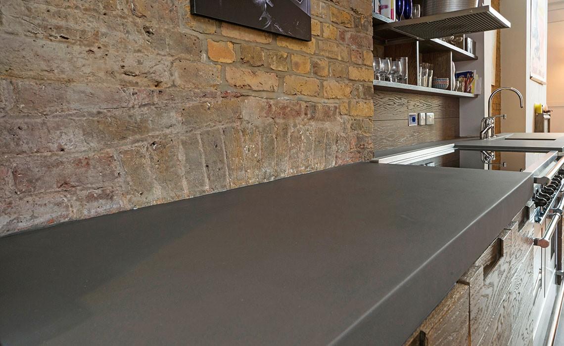 bespoke b ton cir concrete kitchen worktops modern home solutions. Black Bedroom Furniture Sets. Home Design Ideas
