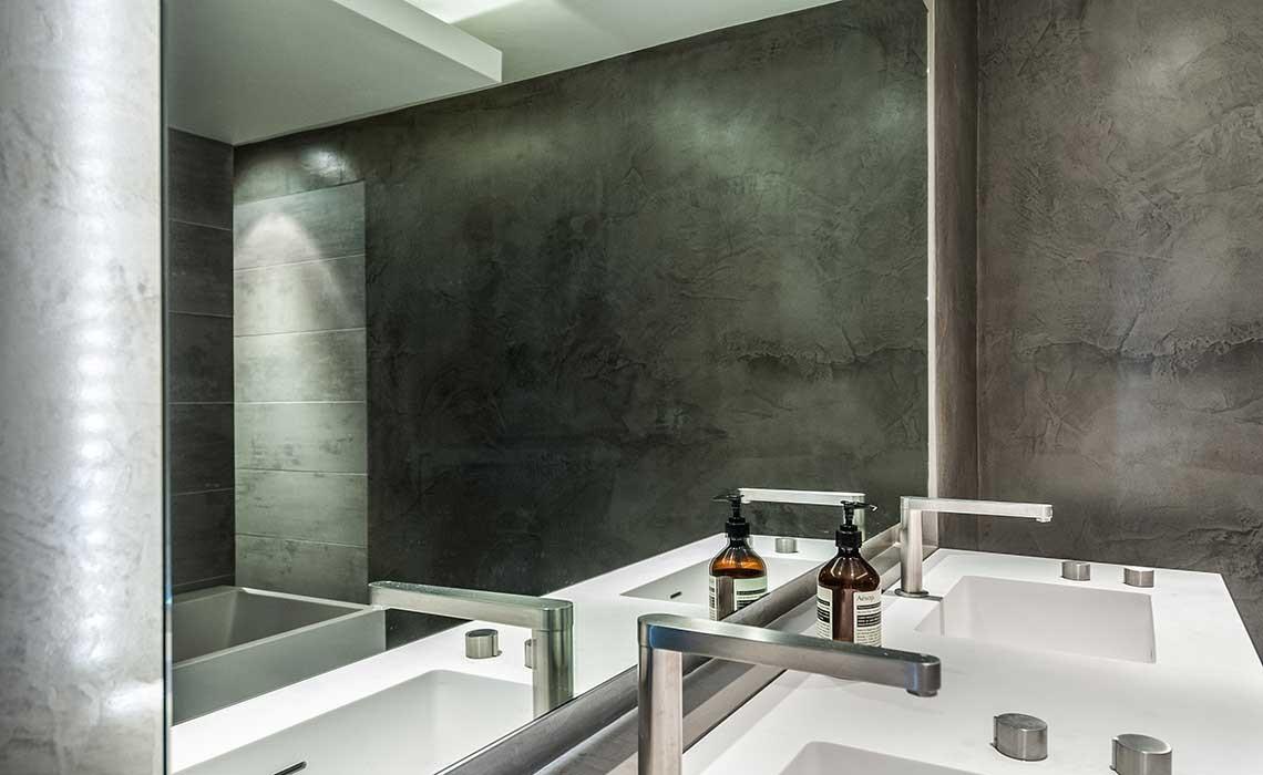 bton de chaux cir great affordable excellent beton cire salle de bain leroy merlin un esprit. Black Bedroom Furniture Sets. Home Design Ideas