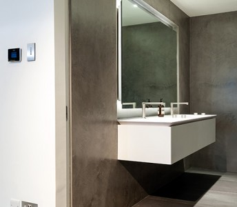 Modern Béton Ciré Designer Bathrooms