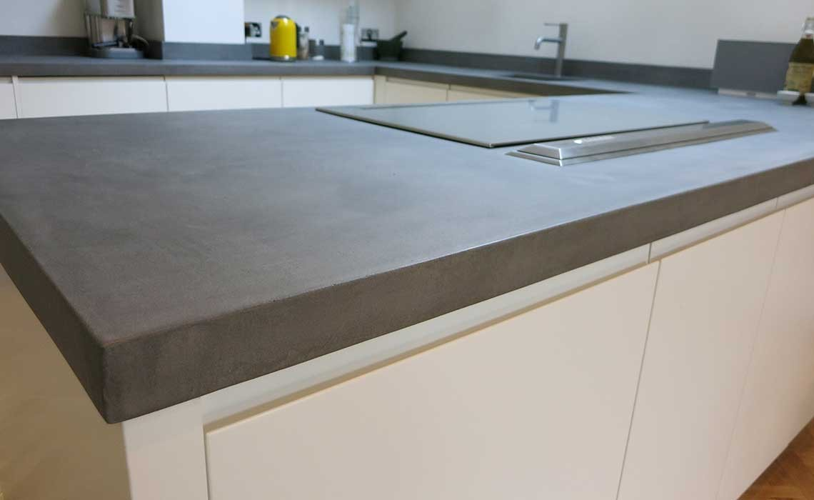 bespoke b ton cir concrete kitchen worktops modern home. Black Bedroom Furniture Sets. Home Design Ideas
