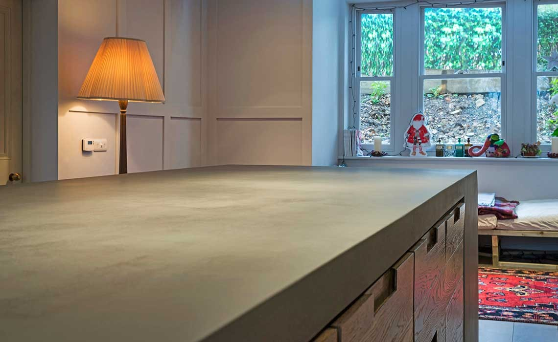 For Kitchen Worktops Bespoke Bacton Cirac Concrete Kitchen Worktops Modern Home Solutions